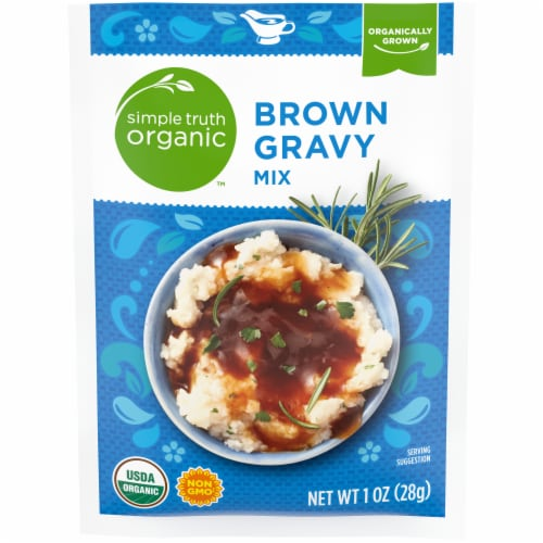 Simple Truth Organic™ Brown Gravy Mix Perspective: front