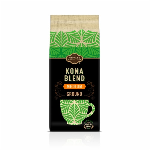 Private Selection® Kona Blend Medium Roast Ground Coffee Perspective: front
