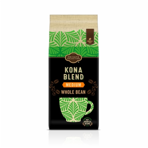 Private Selection® Kona Whole Bean Large Bag Coffee Perspective: front