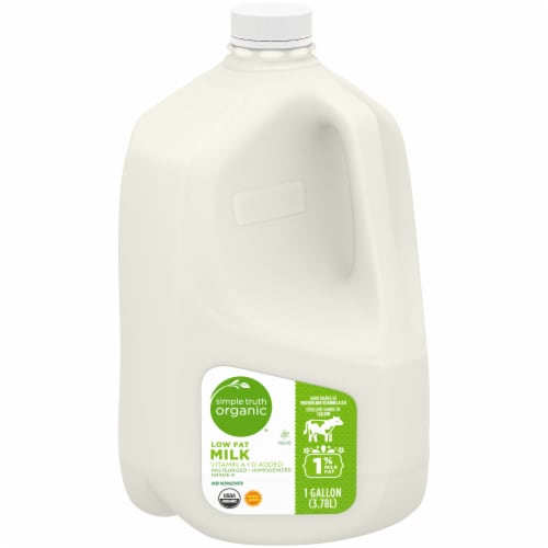 Simple Truth Organic® 1% Low Fat Milk Perspective: front