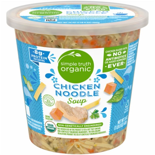Simple Truth Organic™ Chicken Noodle Soup Perspective: front