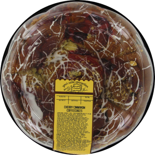 Bakery Fresh Goodness Cherry Cinnamon Coffee Cake Perspective: front