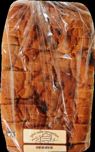 Bakery Fresh Sliced Cinnamon Raisin Bread Perspective: front
