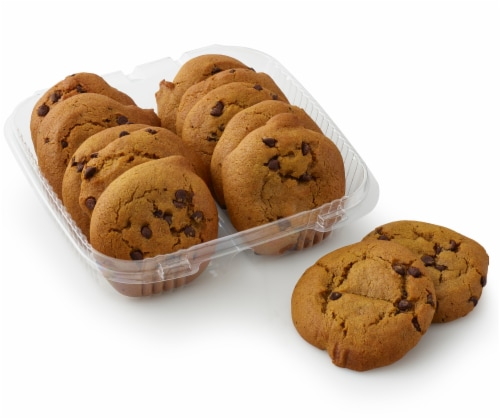 Bakery Fresh Goodness Pumpkin Chocolate Chip Cookies Perspective: front