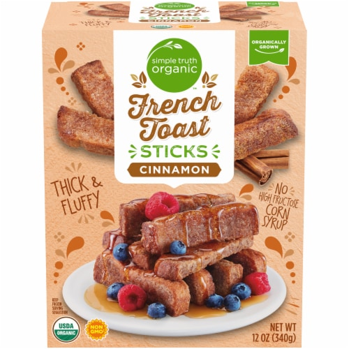 Simple Truth Organic™ Cinnamon French Toast Sticks Perspective: front