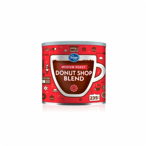 Kroger® Donut Shop Ground Coffee Perspective: front