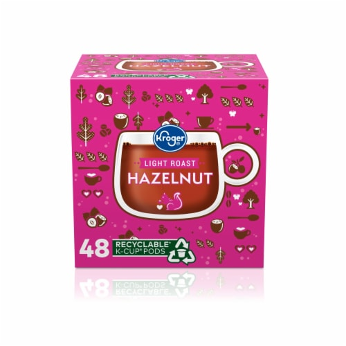 Kroger® Hazelnut Coffee K-Cup Pods Perspective: front