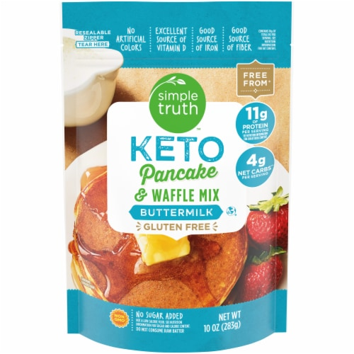 Simple Truth™ Keto Buttermilk Pancake & Waffle Mix Perspective: front