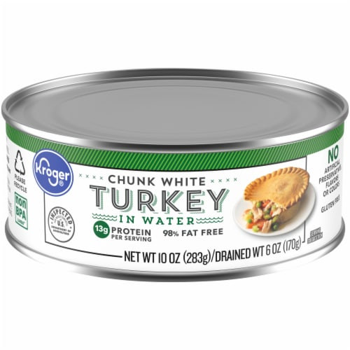 Kroger® Chunk White Turkey in Water Perspective: front