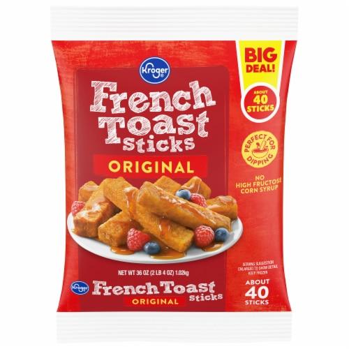 Kroger Original French Toast Sticks Perspective: front