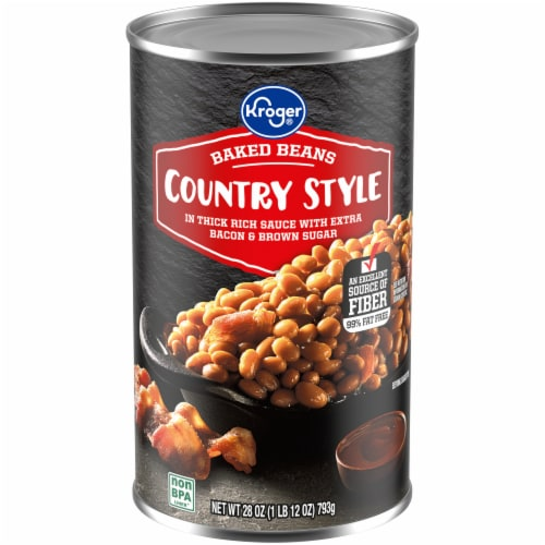 Kroger® Country Style Baked Beans Perspective: front
