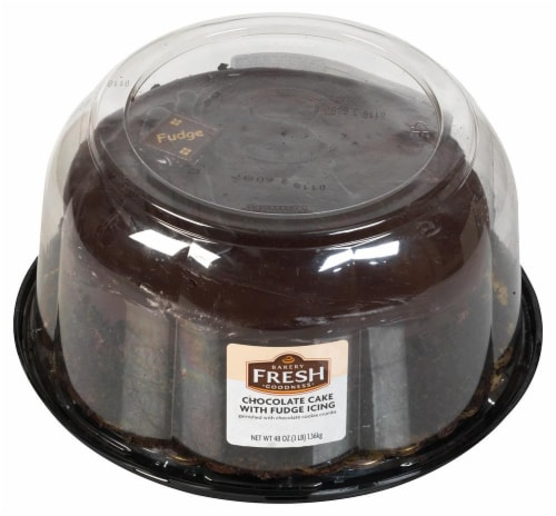 Bakery Fresh Goodness Country Oven Double Chocolate Fudge Cake Perspective: front