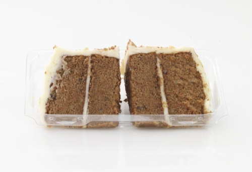 Bakery Fresh Goodness Carrot Cake Slices Perspective: front