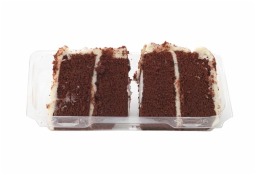 Bakery Fresh Goodness Red Velvet Cake Slices 2 Count Perspective: front