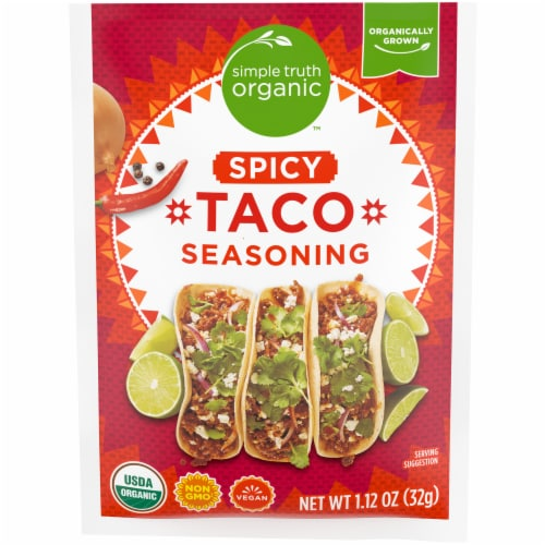 Simple Truth Organic™ Spicy Taco Seasoning Perspective: front