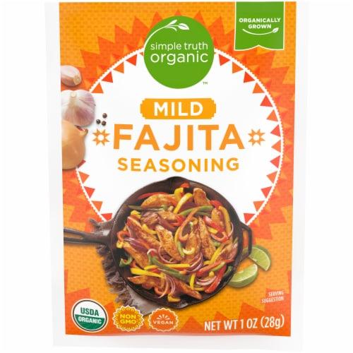 Simple Truth Organic™ Mild Fajita Seasoning Perspective: front