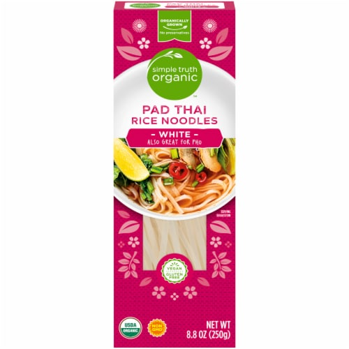 Simple Truth Organic™ Pad Thai White Rice Noodles Perspective: front