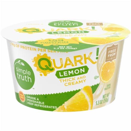 Simple Truth™ Quark! Lemon Yogurt Perspective: front