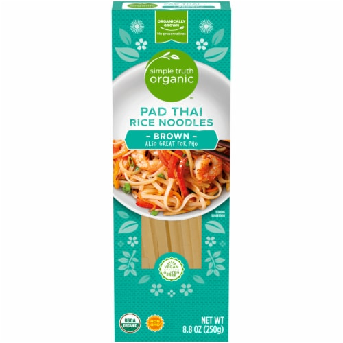 Simple Truth Organic™ Pad Thai Brown Rice Noodles Perspective: front