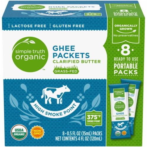Simple Truth Ghee Packs Perspective: front