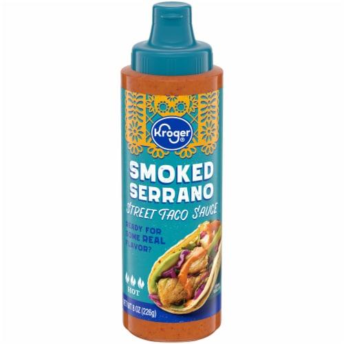 Kroger® Smoked Serrano Hot Street Taco Sauce Perspective: front