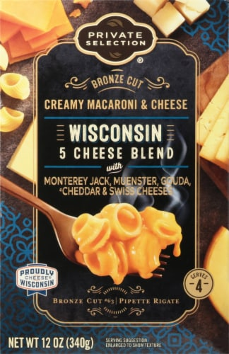 Private Selection® Wisconsin 5 Cheese Blend Macaroni & Cheese Perspective: front