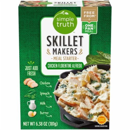 Simple Truth™ Skillet Makers Chicken Florentine Alfredo Meal Starter Perspective: front
