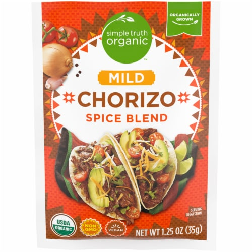 Simple Truth Organic™ Mild Chorizo Spice Blend Perspective: front
