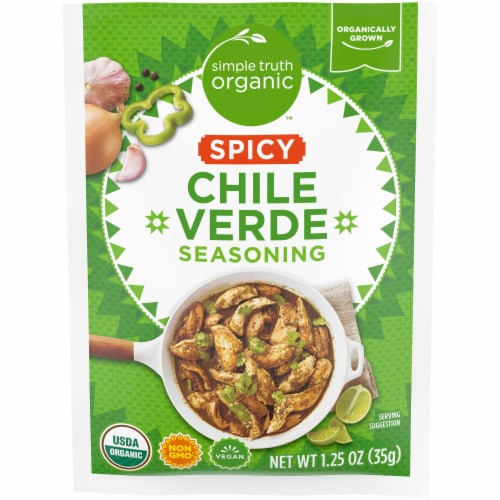Simple Truth Organic™ Spicy Chile Verde Seasoning Perspective: front