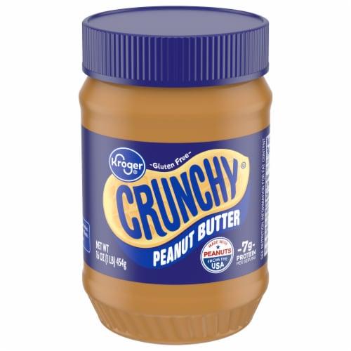 Kroger® Crunchy Peanut Butter Perspective: front