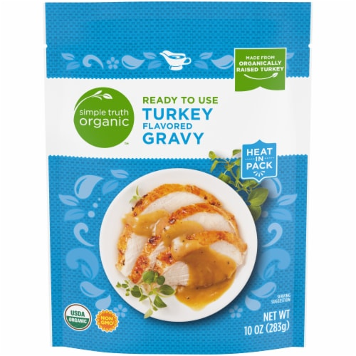 Simple Truth Organic™ Ready to Use Turkey Flavored Gravy Perspective: front