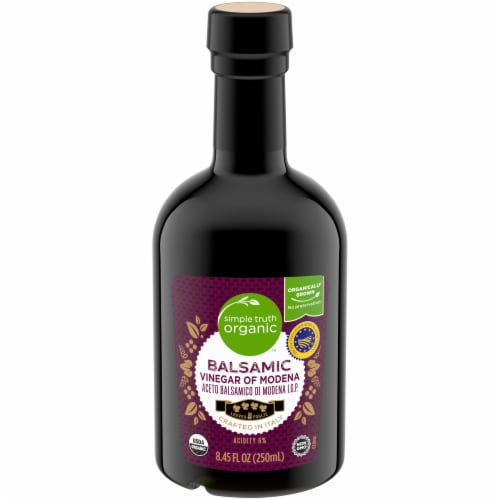 Simple Truth Organic Balsamic Vinegar Perspective: front