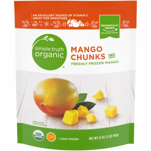Simple Truth Organic® Mango Chunks Perspective: front