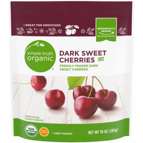 Simple Truth Organic Dark Sweet Cherries Perspective: front