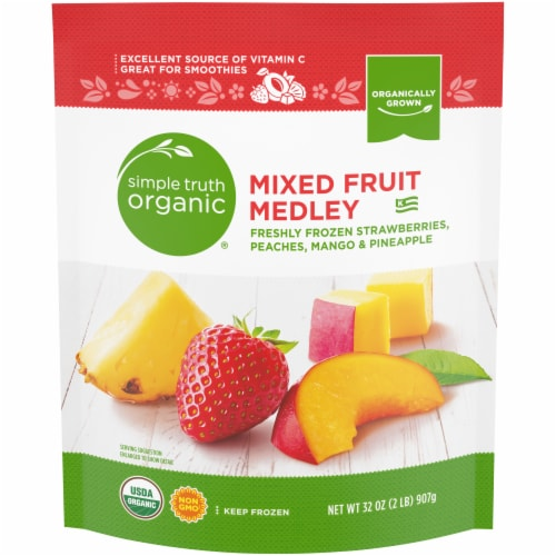 Simple Truth Organic® Mixed Fruit Medley Smoothie Mix Perspective: front