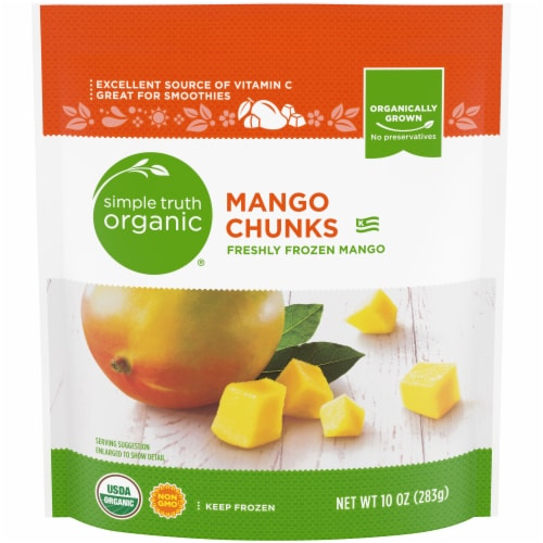 Simple Truth Organic Mangoes Perspective: front