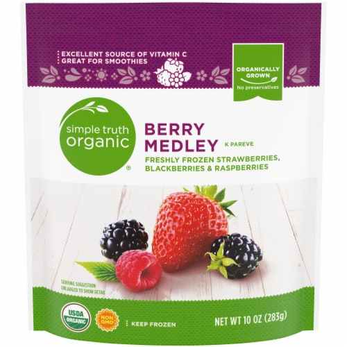 Simple Truth Organic® Berry Medley Perspective: front