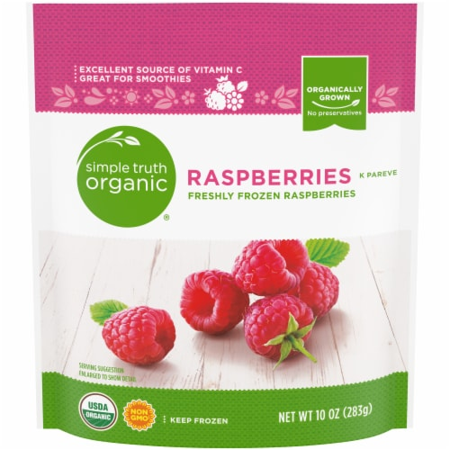 Simple Truth Organic® Raspberries Perspective: front