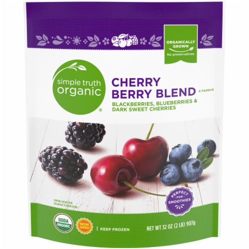 Simple Truth Organic® Cherry Berry Blend Perspective: front