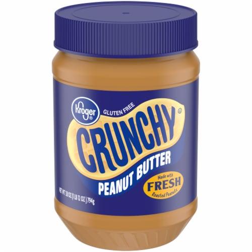 Kroger® Gluten Free Crunchy Peanut Butter Perspective: front