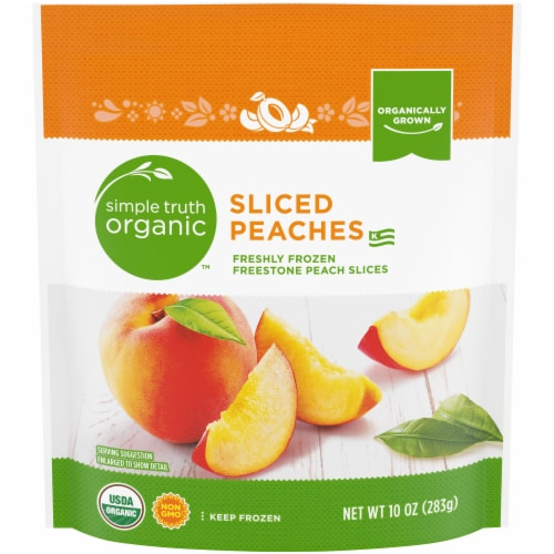 Simple Truth Organic™ Sliced Peaches Perspective: front