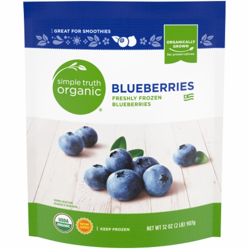 Simple Truth Organic® Blueberries Perspective: front