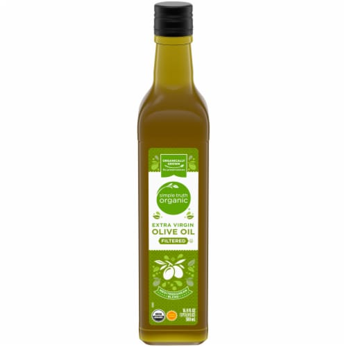 Simple Truth Organic® Filtered Extra Virgin Olive Oil Perspective: front