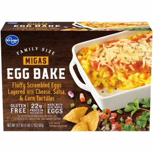 Kroger® Migas Scrambles Egg Bake Frozen Meal Family Size Perspective: front
