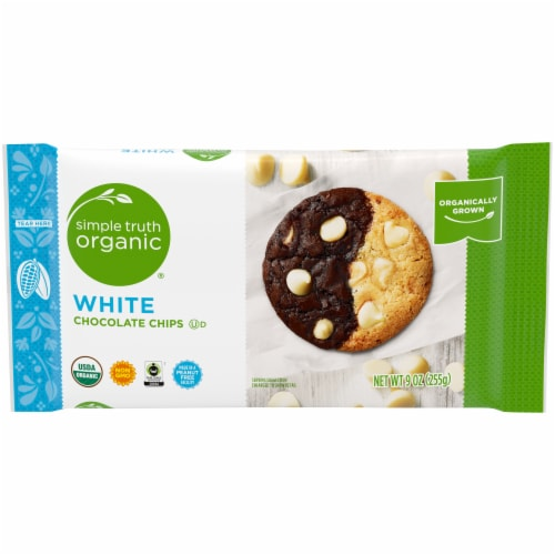 Simple Truth Organic™ White Chocolate Chips Perspective: front