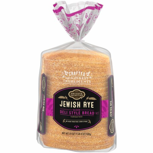 Private Selection® Jewish Rye Sliced Deli Style Bread Perspective: front