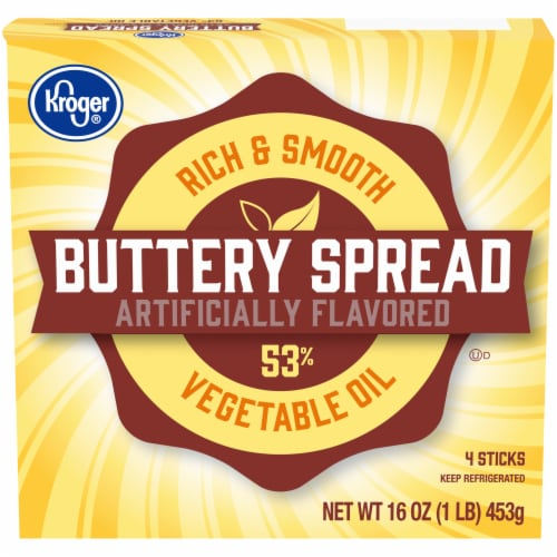 Kroger® Buttery Spread Sticks Perspective: front