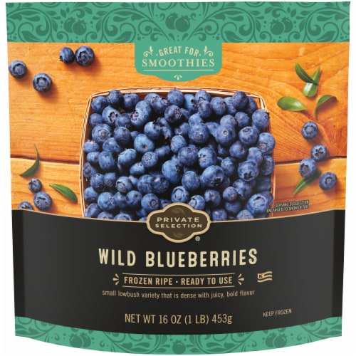 Private Selection™ Wild Blueberries Perspective: front