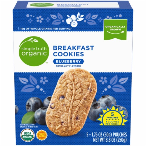 Simple Truth Organic™ Blueberry Breakfast Cookies Perspective: front