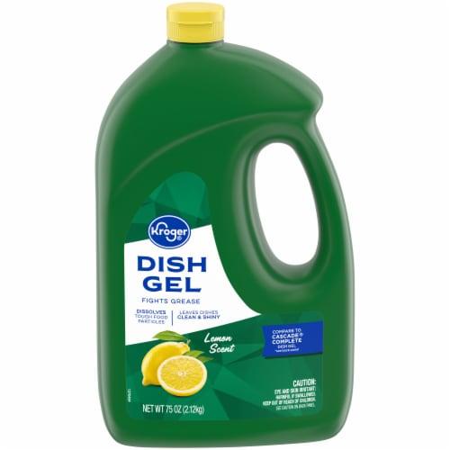 Kroger® Lemon Scent Dish Gel Perspective: front